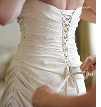 Cleaning and storing your wedding dress