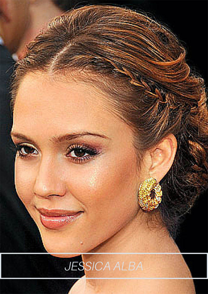 2015 Celebrity Inspired Wedding Hairstyles