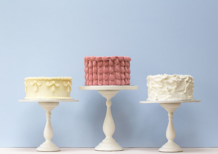 Buttercream Wedding Cake Collection - Rosalind Miller