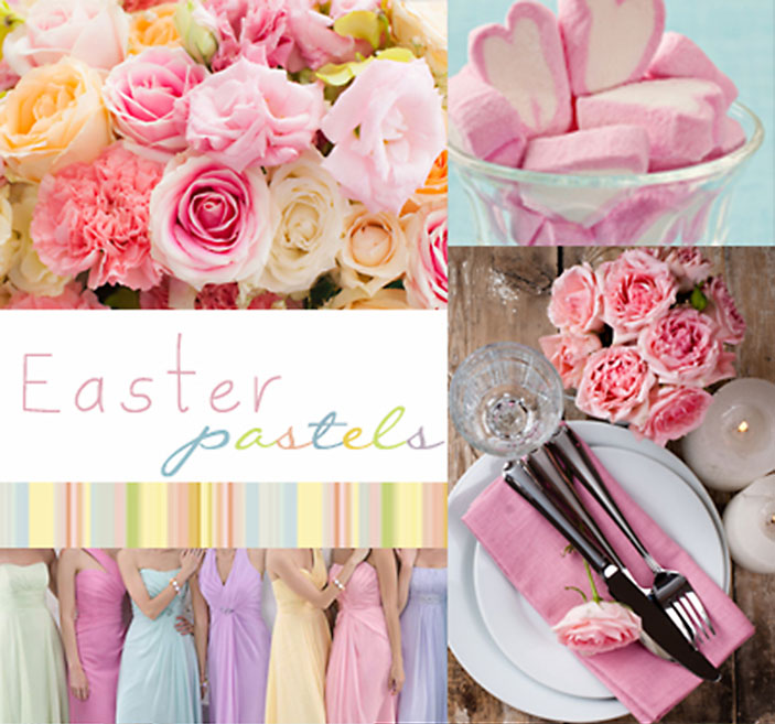 Easter Pastels Wedding Stationery