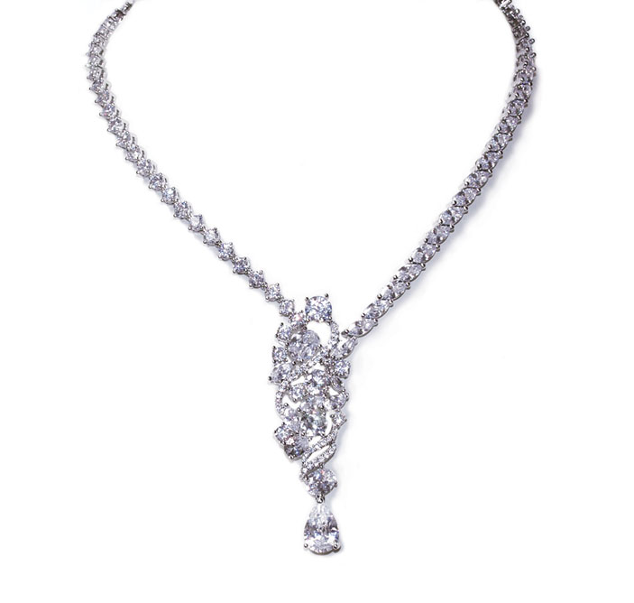 Perfection Wedding Necklace