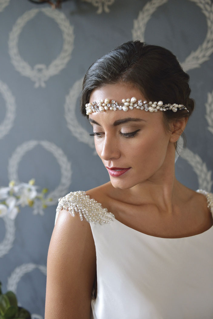 Sylvie Boho Bride Wedding Accessories