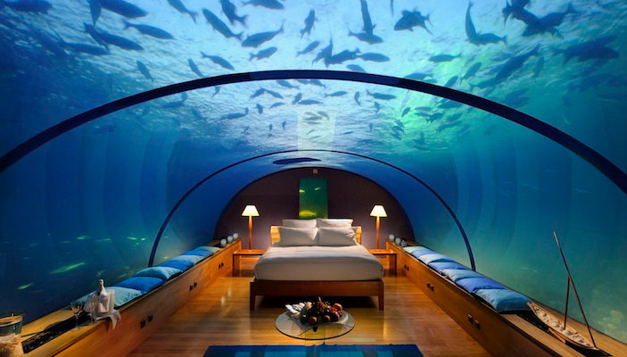 Honeymoon - Underwater Bedroom