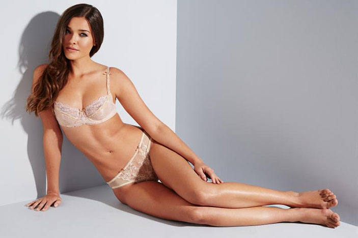 Wedding Linderie - Half Cup Bra