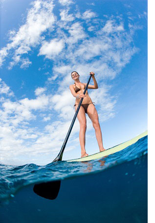 Paddle Boarding Hen Party