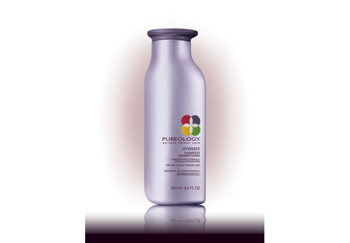 Pureology hydrate for wedding hair control