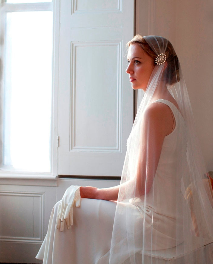 Full Length Wedding Veil - 2014
