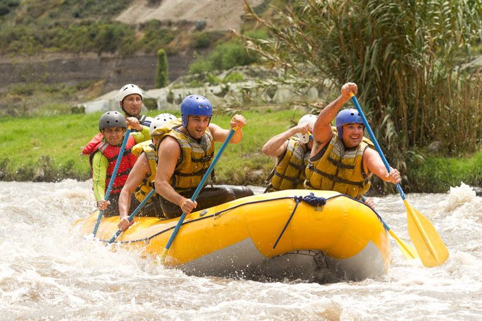 Active Stag Parties - White Water Rafting