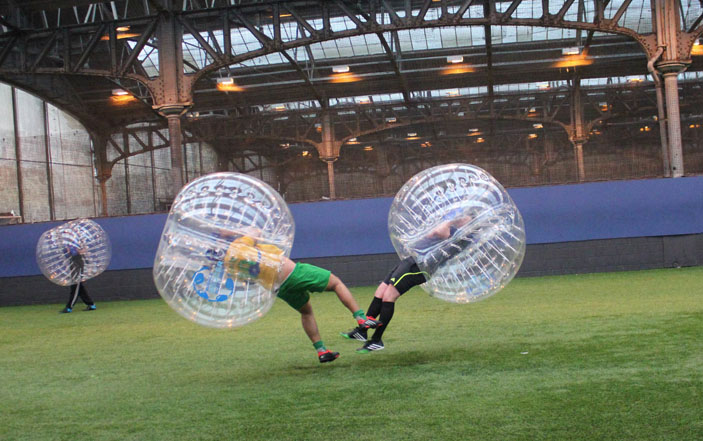 Active Stag Parties - Bubble Football