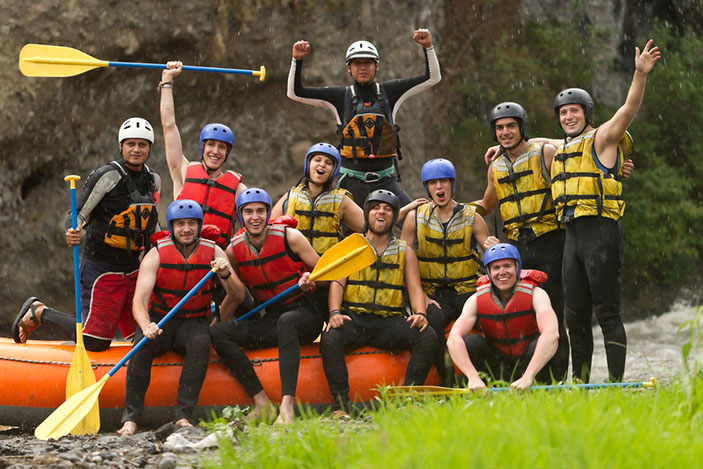 Stag Do - Rafting