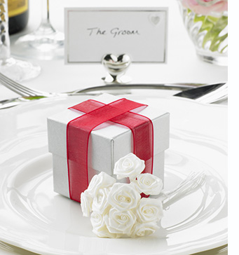 Beautiful wedding favour