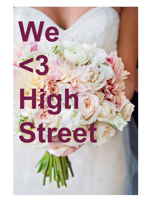 We love high street