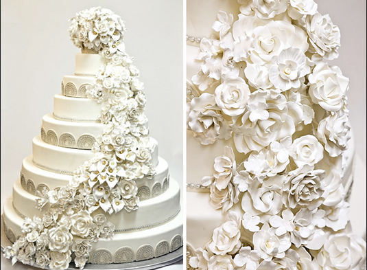 7 Utterly Amazing And Totally Ridiculous Celebrity Wedding Cakes Weddingplanner Co Uk