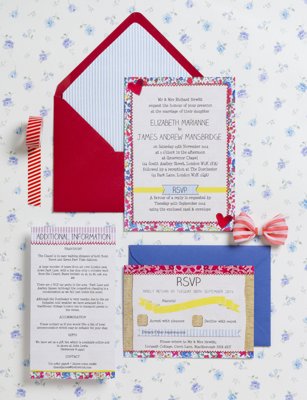 Country Fete Wedding Invitation Suite by Hip Hip Hooray