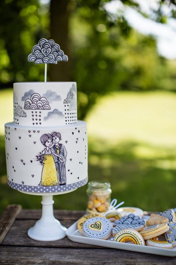 Wedding Cake Ideas: Top Trends for 2015 - WeddingPlanner.co.uk