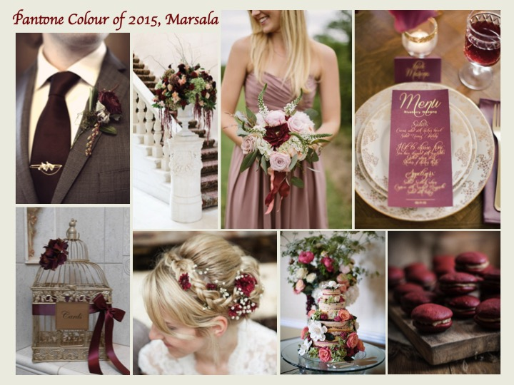 Marsala Mood Board