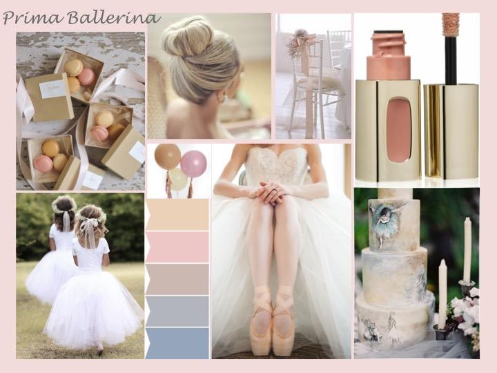 ballerina moodboard