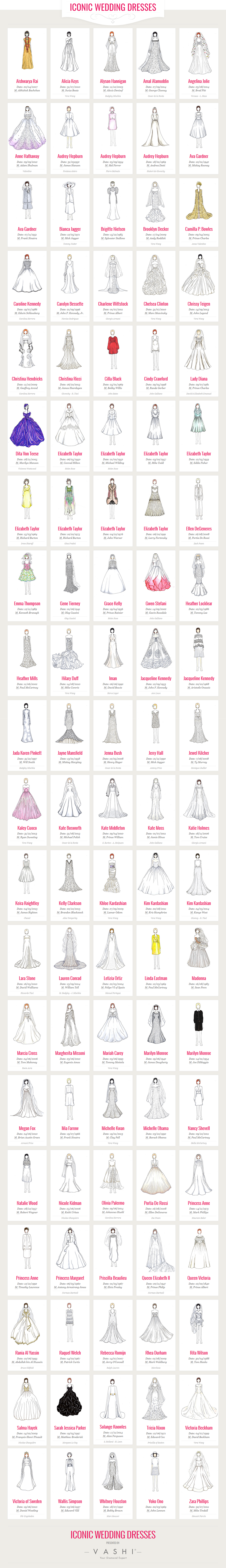 100 bridal