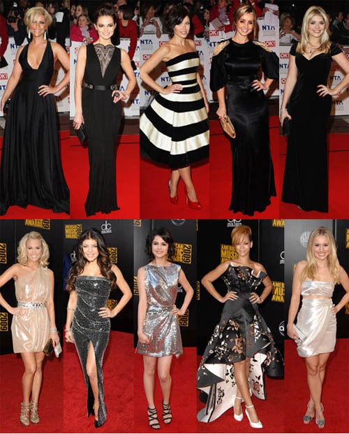 red carpet poses