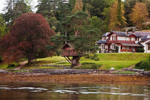 Exclusive Hire Wedding Venues - The Lodge on Loch Goil