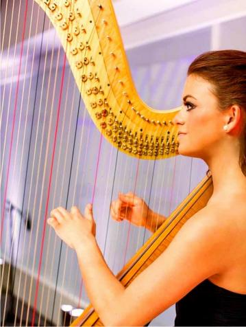 Music & Entertainment - Harpist - Cecilia De Maria