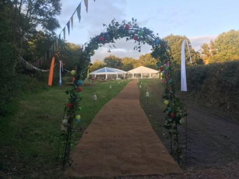 Marquee hire for Weddings - Universal Marquees