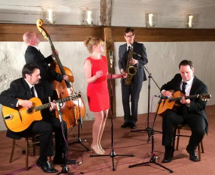 Bands For Hire - Jonny Hepbir Gypsy Jazz Band - Soloist to Quintet