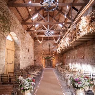 Civil Ceremony License Wedding Venues - Doxford Barns