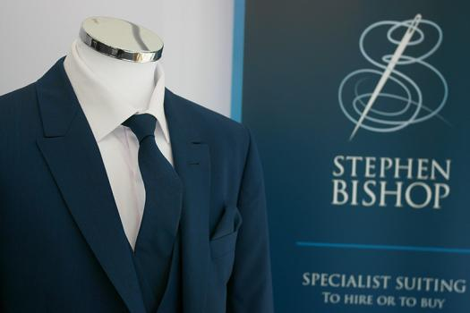 Groomswear - Stephen Bishop Suiting