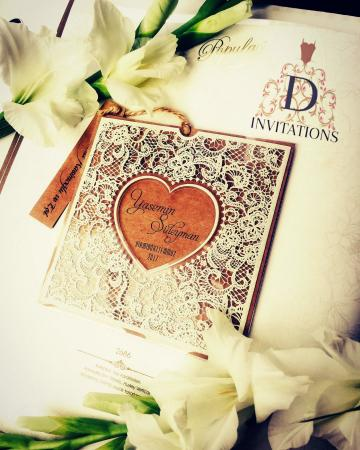 Wedding order of service & progams - Queen D Invitations