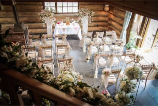 Civil Ceremony License Wedding Venues - Hidden River Cabins