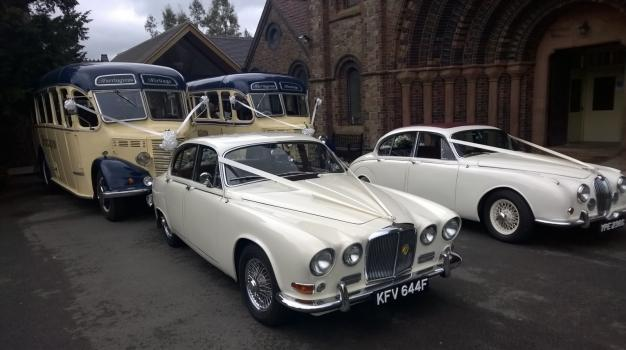 Wedding Cars and Transport - Colin's Classic Cars