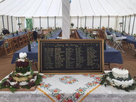 Marquee hire for Weddings - McNaughton Marquees