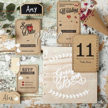Wedding Name Cards  - John Lewis Stationery & Planners