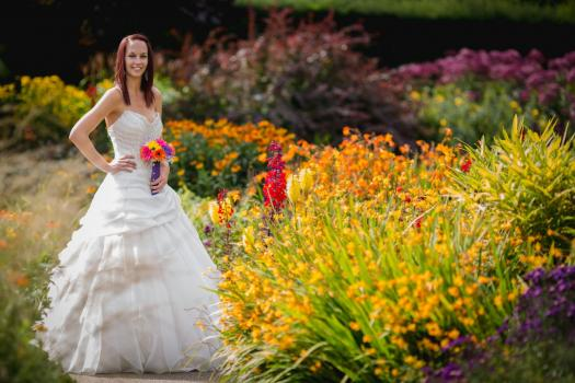 Unusual Wedding Venues - RHS Garden Rosemoor