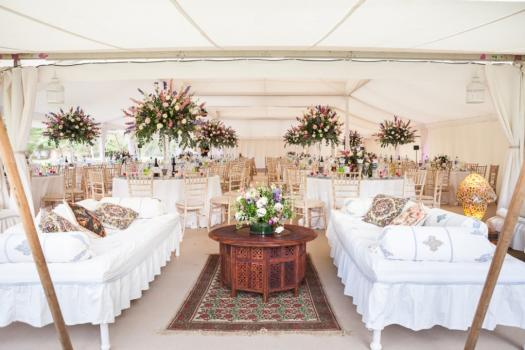 Marquee hire for Weddings - The Arabian Tent Company