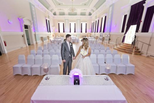 Civil Ceremony License Wedding Venues - The Ballroom at Accrington Town Hall