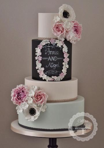 Wedding Cakes, Ideas, Inspiration and Makers - Cotton and Crumbs