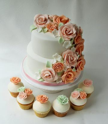 Wedding Cakes, Ideas, Inspiration and Makers - Candy's Cupcakes