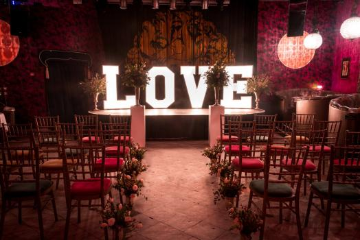 Exclusive Hire Wedding Venues - Proud Cabaret Brighton