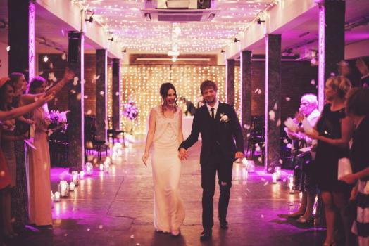 Urban Wedding Venues - Victoria Warehouse
