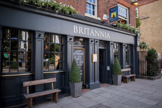 Wedding Venues London - The Britannia