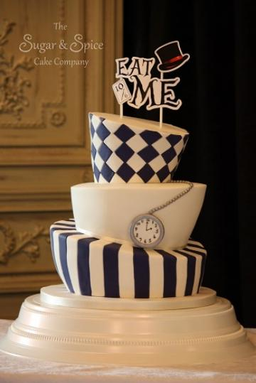 Wedding Cakes, Ideas, Inspiration and Makers - The Sugar & Spice Cake Company
