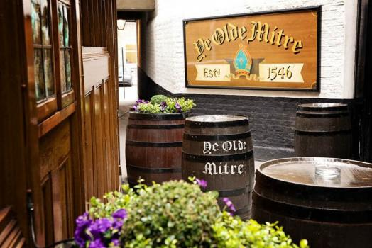 Urban Wedding Venues - Ye Olde Mitre