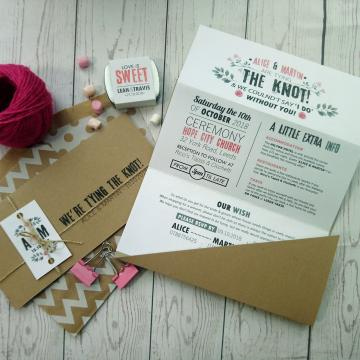 Save The Date Cards  - Sugar Crush Weddings