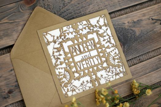 Wedding thank you cards - Charlotte Willis Designs
