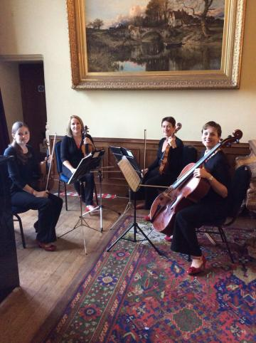 String Quartet Hire | Weddings - Salisbury String Quartet