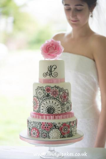 Wedding Cakes, Ideas, Inspiration and Makers - Lindy's Cakes