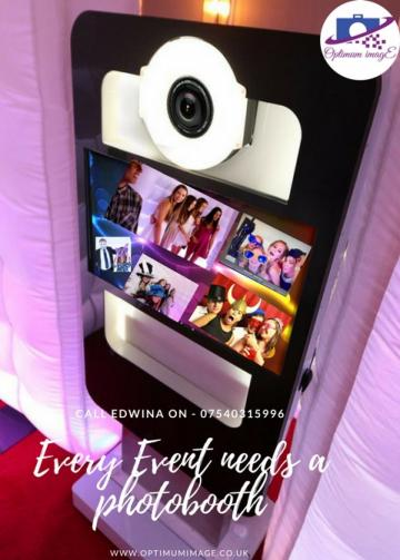 Photo Booth Hire - OPTIMUM IMAGE