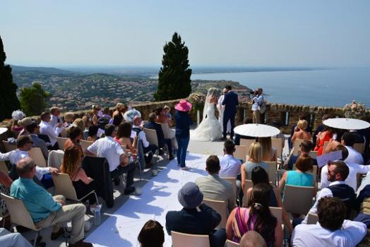 Wedding venues France - Fort Saint Elme